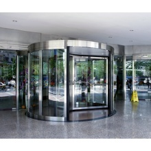 Three wing automatic revolving door for mall