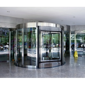 Automatic Lobbying Revolving Door Factory With ISO9001