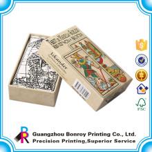 Hochwertiger kundenspezifischer Kartendruck mit Kartenfach im Taschenformat
