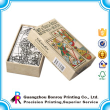 Impression de carte personnalisée de haute qualité avec le jeu de cartes de poche