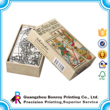 High quality custom card printing with pocket size card deck