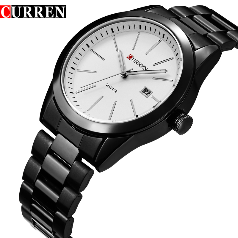 Curren Casual Business Quartz Stainless Steel Watch 4