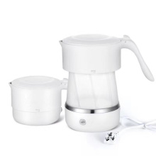 Foldable electric travel kettle