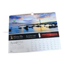 China Factory Custom Printing Full Color Printing Paper Wall Calendar