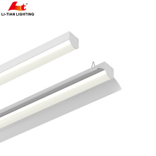New design high lumen 130LM Easy Open led linear light fixture with Dimming led light and Emergency led light