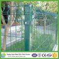 PVC recouvert d'acier en métal décoratif V Fermeture en maille soudée pressée