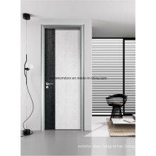 Aluminum Frame Decorative Laminate Faced Wooden Doors
