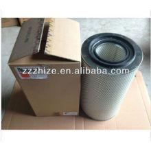 filtro de aire caliente de la venta AF25452 para el autobús más alto KLQ6728 / piezas del autobús