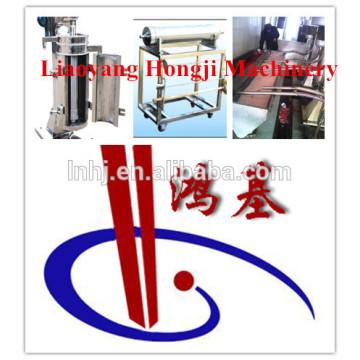 Machine centrifuge verticale de séparation d'eau centrifuge