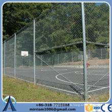 Billig und hohe Qualität bietet mehr Sicherheit Kette Link Zaun Top Stacheldraht Fabrik