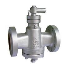 2016 China Factory API Sleeve Flange CF8 Plug Valve