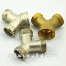 Washing machine water hose y-type connector