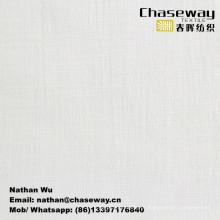 Lavagem Wrinkle Processamento Slub Elastic Linen Textura Algodão / tecido Spandex