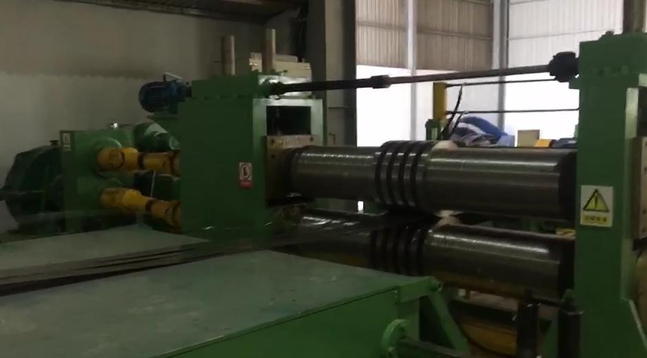304 steel Slitting machine