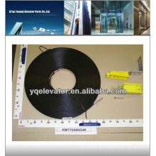 Kone elevador cable plano KM770080G40