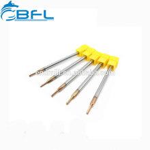 BFL CNC-Drehmaschine Zerspanungswerkzeuge 4 Flöten Spiral-Reibahlen-Reibahlen zum Schneiden von Stahl