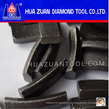 Alta calidad refuerza segmento de techo de núcleo de hormigón en venta