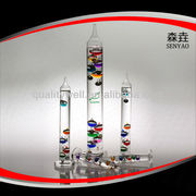 Galileo Thermometer/Artware/Glass thermometer