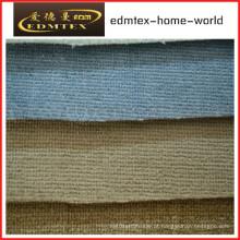 Tecido liso do Chenille para a embalagem do sofá nos rolos (EDM0200)