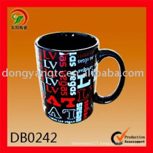 Factory direct wholesale advertising ceramic cup