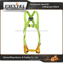coloré réfléchissant ceinture de sécurité et harnais