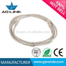 CE / ROHS câble cat6 30 m Ligne de cordon de raccordement