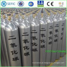 Cilindro 40L de alta pressão do CO2 do aço sem emenda (ISO9809-3)