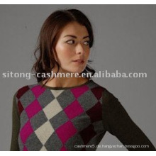 Intarsia Kaschmir-Pullover für Frauen, Kaschmir-Pullover für Männer
