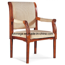 Stoff Wooden Arm Wartezimmer Stuhl (FOH-F60)