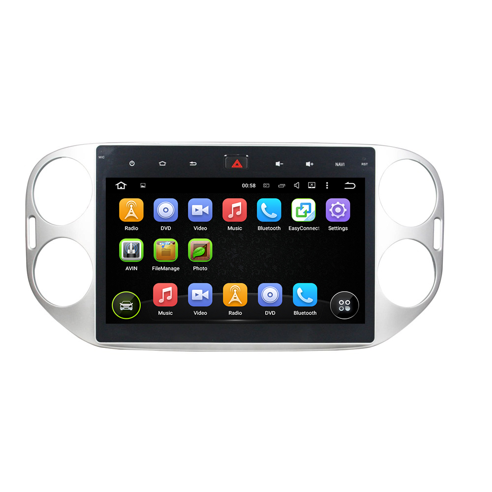 Tiguan 2013-2015 deckless car DVD player
