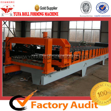 China for Roof Roll Forming Machine, Tile Roll Forming Machine | Roof Tile Roll Forming Machine Glazed Steel Tile Forming Machine export to Armenia Manufacturer