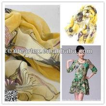 anpassen, machte Entwürfe Printed Chiffon für Schal