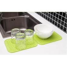 Flexible Folding Silicone Dish Drying Mat