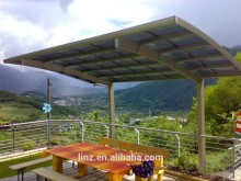 New style strong portable garage carport with ploycarbonate roof
