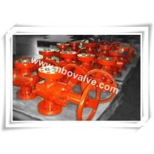 Válvula deslizante paralela Wallhead Handwheel (G47H-PSL2)