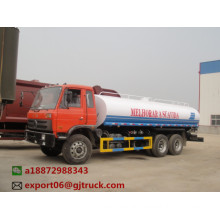 Water truck back spill and side spout function water tank truck in sierra leone