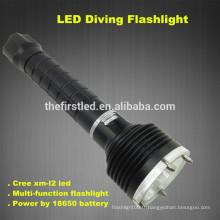 3T6 CREE XM-L2 Lampe LED Auto-défense Tactical Lampes de poche