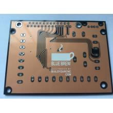 China Gold Supplier for Black Prototype PCB 2 layer Transparent Soldermask   PCB supply to Italy Supplier