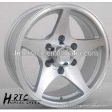 HRTC Durable replica хром колесо обода колеса14 ~ 16 дюймовый 5 отверстий колесный диск