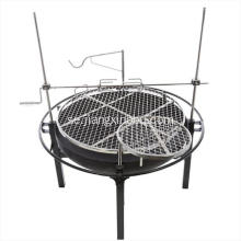 Charcoal BBQ Grill Med Rotisserie