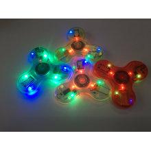 Hand-Spinner / Fidget-Spinner avec flash et lumière Bluetooth