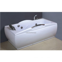 New ABS White Acrylic massage bathtub for better life whirlpoolbathtub