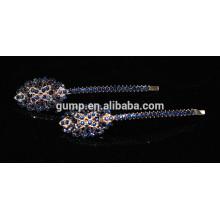 Moda Colorido Rhinestone Nuevo Diseño Barrettes De Cristal