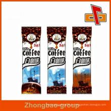 China-Hersteller Aluminiumfolie zurück versiegelt kleine Kaffeebeutel für sofortige Kaffeeverpackung