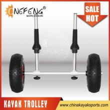 New style aluminum kayak cart