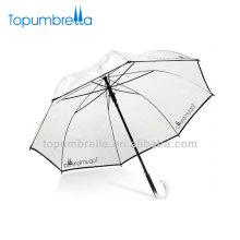23''8ribs plastic handle plastic umbrella handle