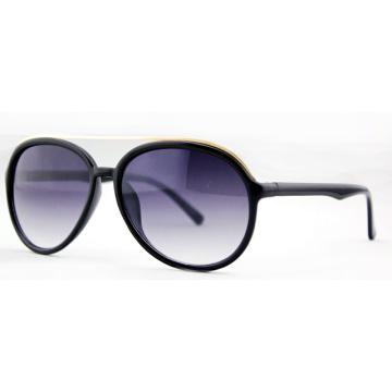 Gafas de sol de moda negro unisex para las mujeres o los hombres (14287)