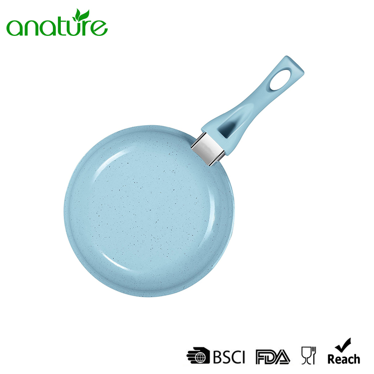 Blue Speckle Non Stick Cooking Pan