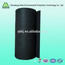 Non - woven needle punched activated carbon fiber fire resistant felt