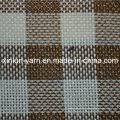 Tissu tissé par sofa de polyester de 100% pour la tapisserie d'ameublement / tissu de sac / chaise